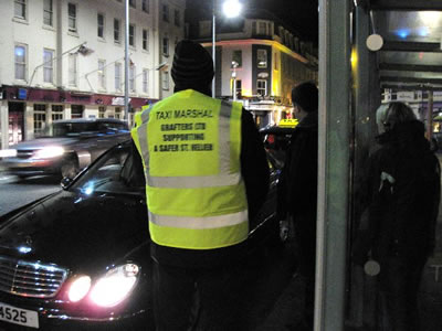 Grafters sponsored Taxi Marshals